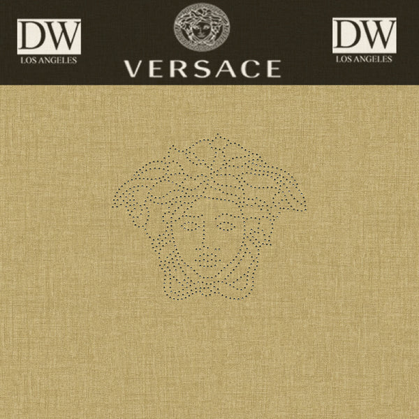 Catalan Bay Versace Logo Panel by Versace Wallpaper