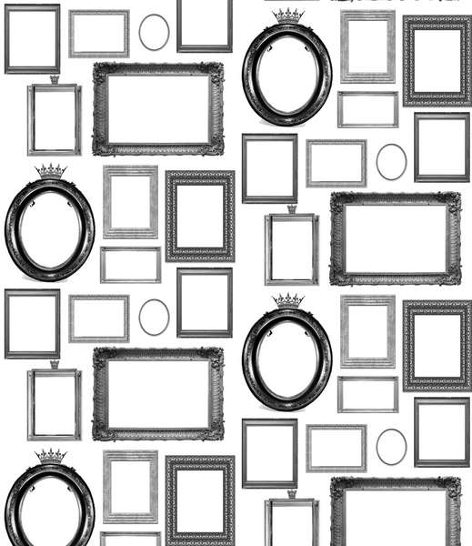 Familjen - Swedish Picture Frames - Pattern Design Lab
