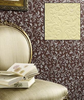 Arlene Acanthus Paintable Embossed Walls