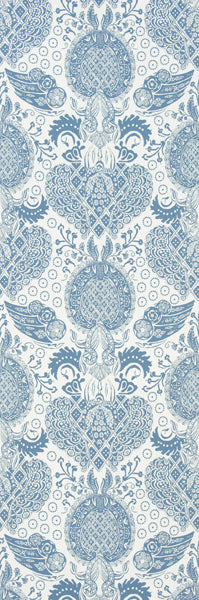 Lace Damask Wallpaper