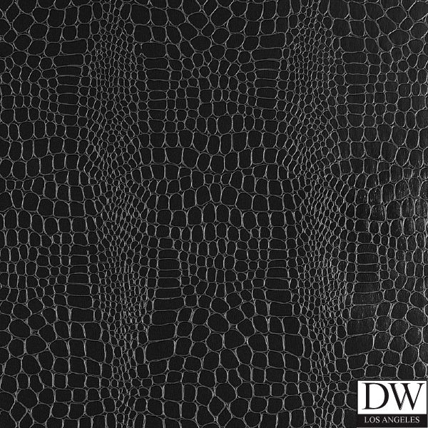 Crocodile Animal Skin Faux Wallpaper