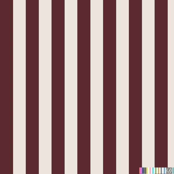 Beverly Hills Stripe Wallpaper - Lexington - Pattern Design Lab