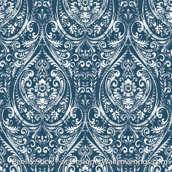 La Boheme Damask by Peel & Stick