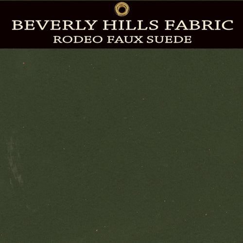 Beverly Hills Rodeo Faux Suede - Fall Green Tea
