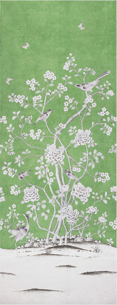 Mary Mcdonald Chinoiserie Panel - Green