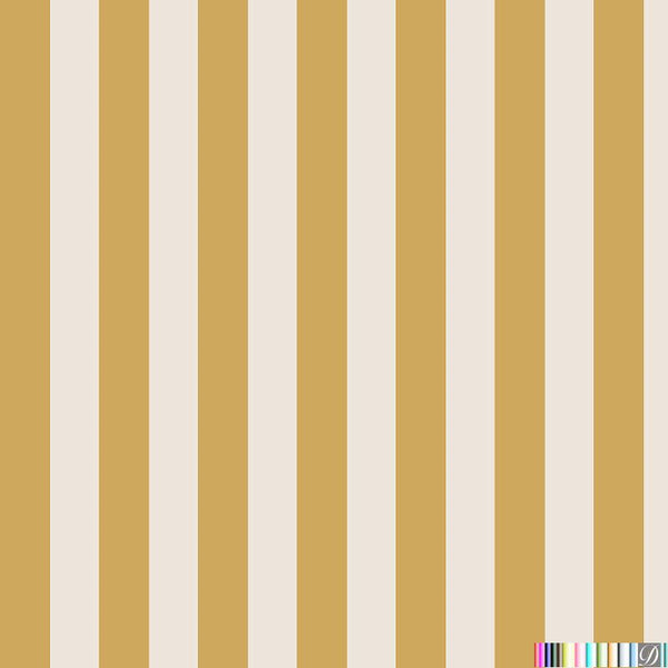 Beverly Hills Stripe Wallpaper -  Sunset - Pattern Design Lab