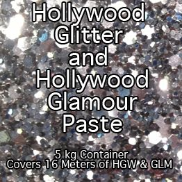 Hollywood Glamour & Hollywood Glitter Paste