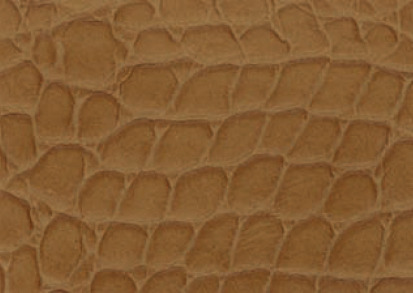 Crocodile Faux Leather - Caramel