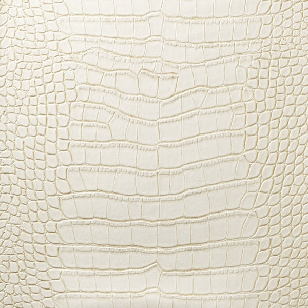 Le Embossed Croc - White Cream