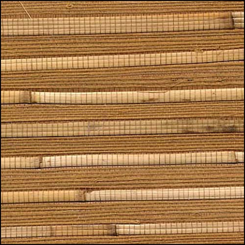 BaliHigh - Gold tan natural bamboo grasscloth wallpaper