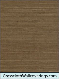 Sansai Sisal Grasscloth-Honey Java Brown
