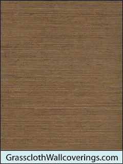 Sansai Sisal Grasscloth-Deep Brown