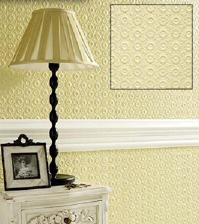 Villa Louis Paintable Embossed Walls