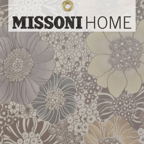 Missoni Home Anemones Wallpaper - Cream/Warm Grey/Multi