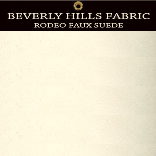 Beverly Hills Rodeo Faux Suede - Butter Cream