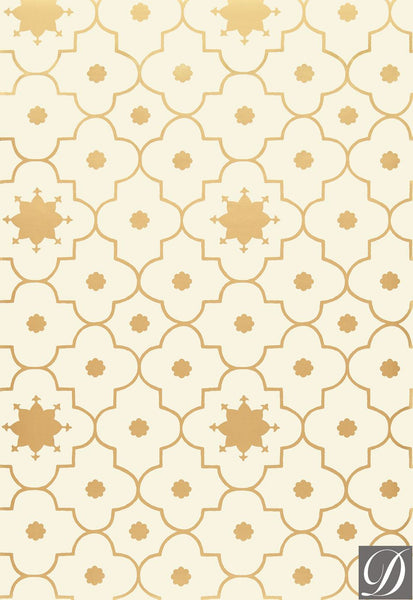 Taj Trellis Wallpaper by Martyn Lawrence Bullard