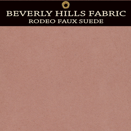 Beverly Hills Rodeo Faux Suede - Peach Palace