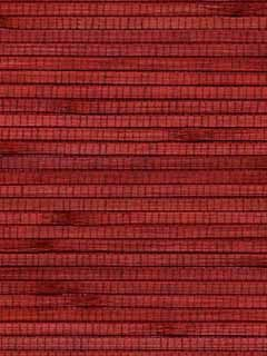 Reeded Bamboo Chinese Red Tones