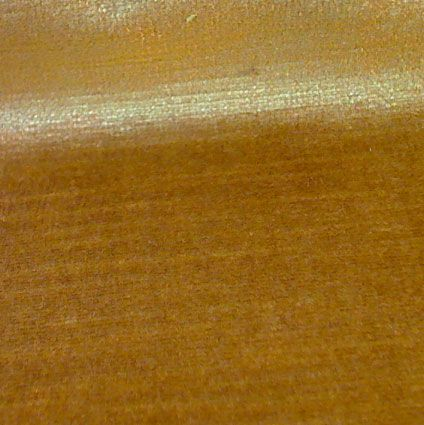 Classic Aged Velvet Fabric - Orange Gold