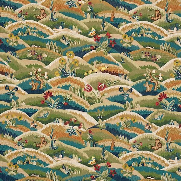 Schumacher Fabrics #72450 at Designer Wallcoverings - Your online resource since 2007
