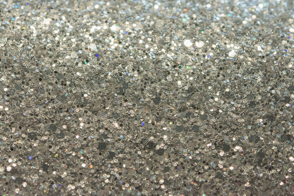 Hollywood Glamour Sequin - Silver Multi Color