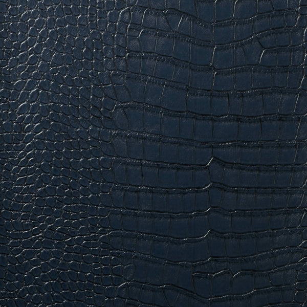 Le Embossed Croc - Deep Navy Blue