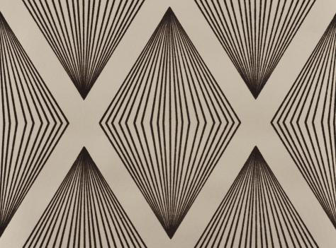 Lawrence Laurito Funky Flock Retro Velvet Wallpaper - Charcoal