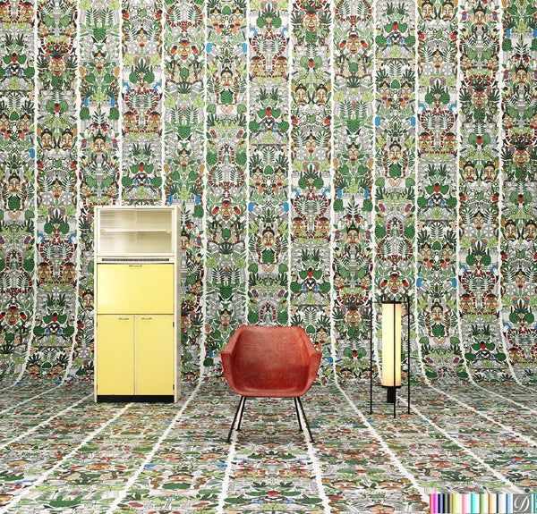 L'Afrique Wallpaper by Studio Job