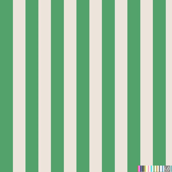 Beverly Hills Stripe Wallpaper - Roxbury - Pattern Design Lab