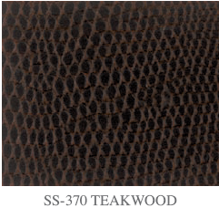 Cobra������ - Faux Snake Leather - Teakwood