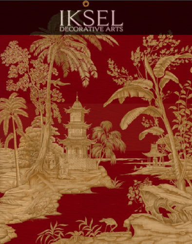 Exotic Chinoiserie Chinoiserie Wall Panels
