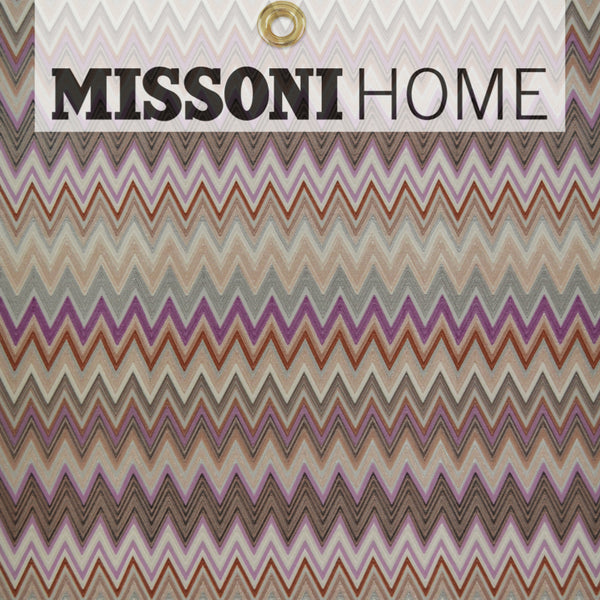 Missoni Home Zig Zag Multicolore Wallpaper - Orchid/Cream/Copper