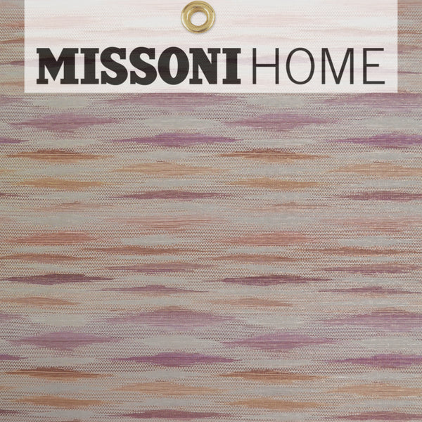 Missoni Home Fireworks Wallpaper - Orchid/Mauve/Copper