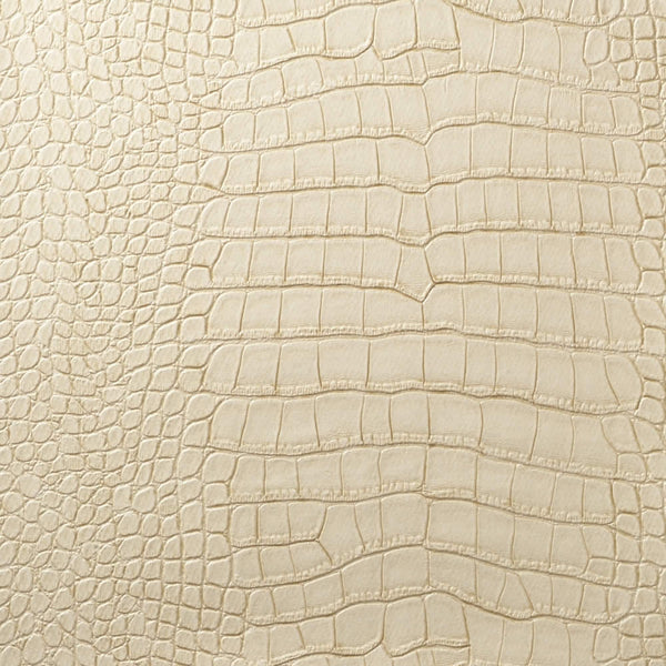 Le Embossed Croc - Cream, Beige