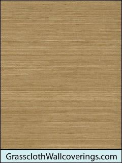 Sansai Sisal Grasscloth-Orange and Honey