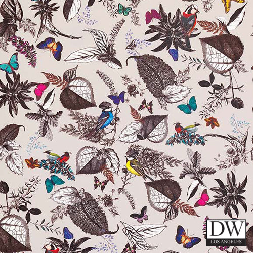 Benini Birds and Flower Wallpaper