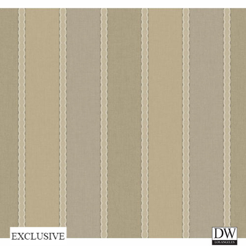 Lodge Living Woven Stripe Wallpaper