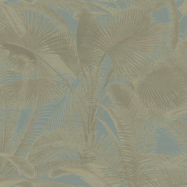 Aida Silk Palm Wallpaper - Designer Wallcoverings and Fabrics