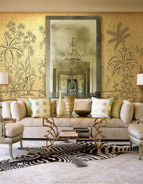 Tratemana by Et Cie Wall Panels - Designer Wallcoverings and Fabrics