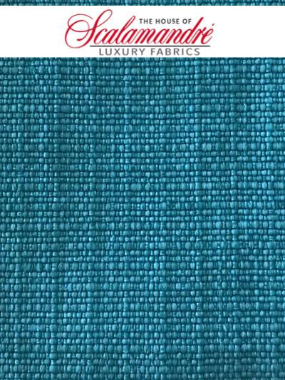MADAGASCAR PLAIN FR - AQUA - FABRIC - F31081-006 at Designer Wallcoverings and Fabrics, Your online resource since 2007