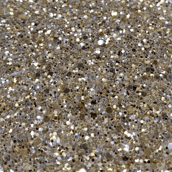 Hollywood Glamour Sequin Champagne Metallic Glitter - Designer Wallcoverings and Fabrics