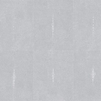 Glambeads - Shagreen Glass Bead Wallpaper -- Silver Grey - Designer Wallcoverings and Fabrics