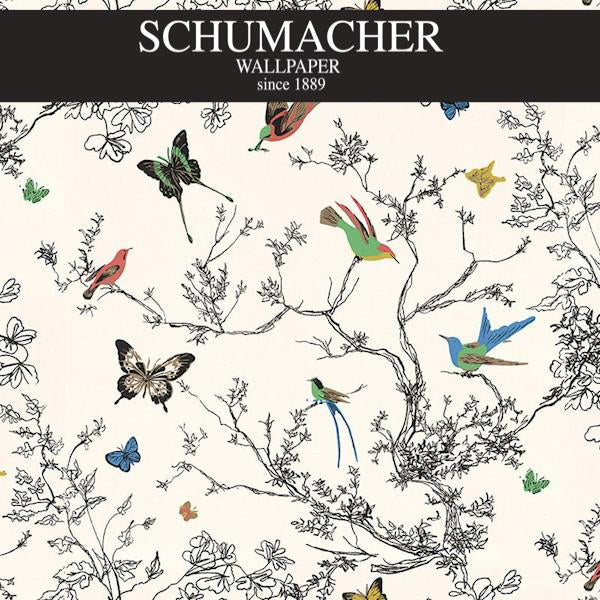 Authorized Dealer of 2704420 by Schumacher Wallpaper at Designer Wallcoverings and Fabrics, Your online resource since 2007