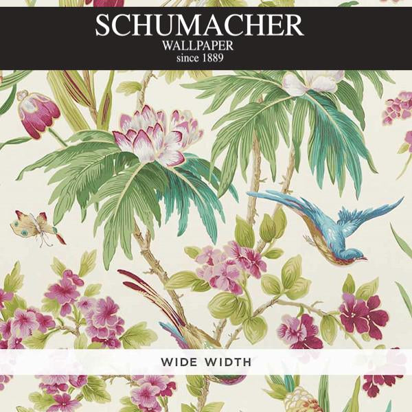 Authorized Dealer of 5006970 by Schumacher Wallpaper at Designer Wallcoverings and Fabrics, Your online resource since 2007