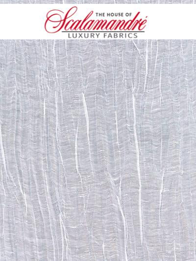 PLEATED LINEN SHEER - CLOUD - FABRIC - 27052-001 at Designer Wallcoverings and Fabrics, Your online resource since 2007