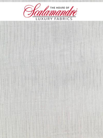 AURORA SHEER - SILVER - FABRIC - 27055-001 at Designer Wallcoverings and Fabrics, Your online resource since 2007
