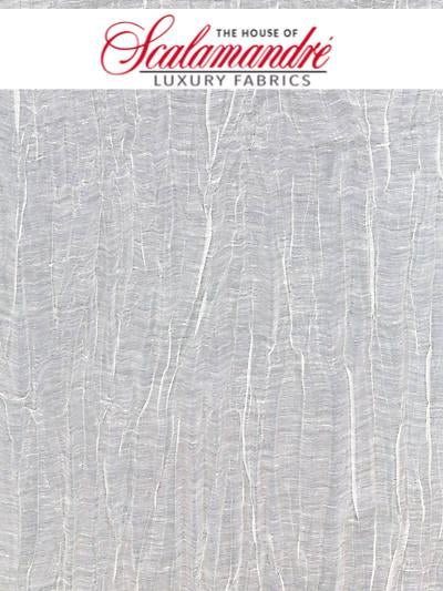 PLEATED LINEN SHEER - IVORY - FABRIC - 27052-002 at Designer Wallcoverings and Fabrics, Your online resource since 2007