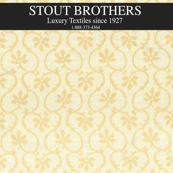 7615-03 FLORAL SCROLL by Stout Brothers