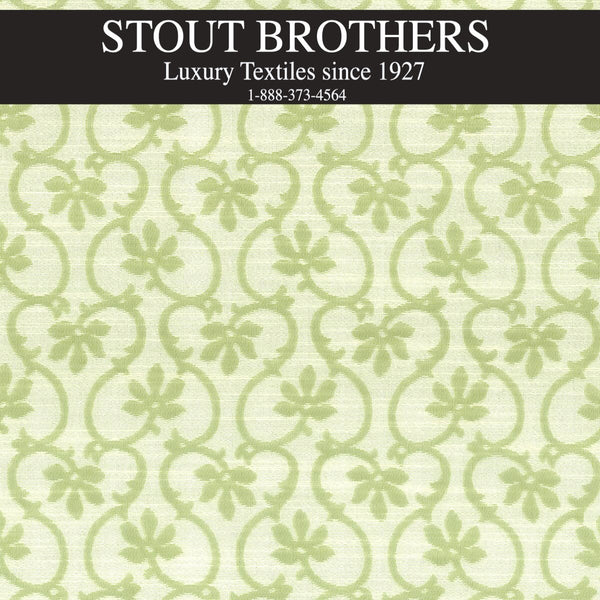 7615-15 FLORAL SCROLL by Stout Brothers