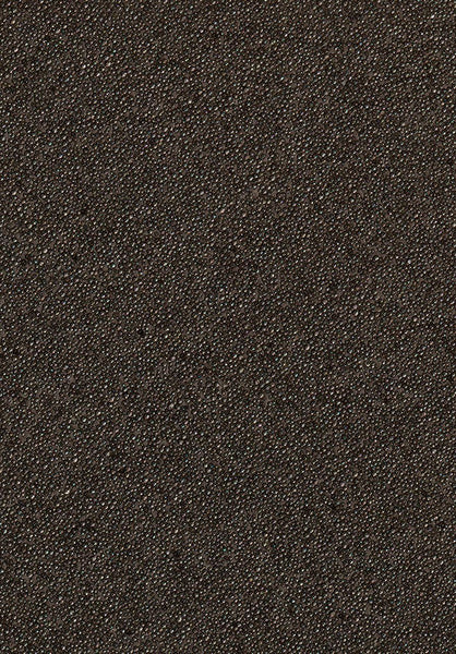 Glambeads Solid Black Glass Bead Wallpaper - Designer Wallcoverings and Fabrics